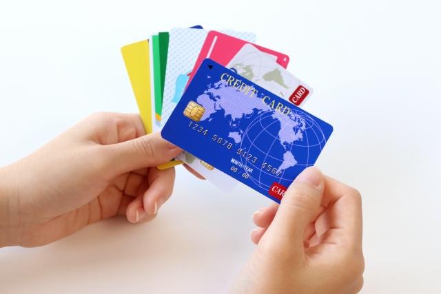 クレジットカードによる分割払い
